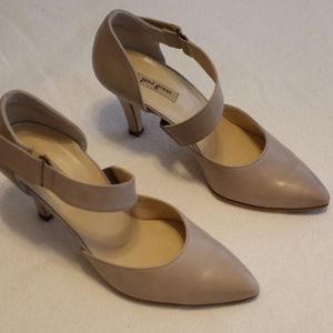 Paul Green blush/nude Mary Janes sz 7 in box